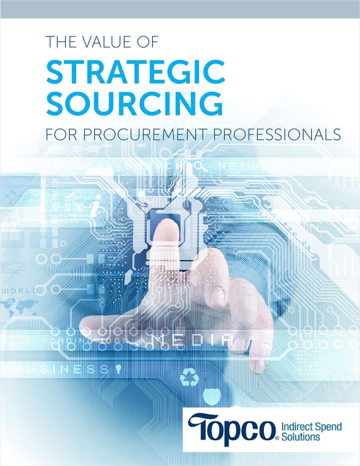 The Value of Strategic Sourcing for Procurement Professionals