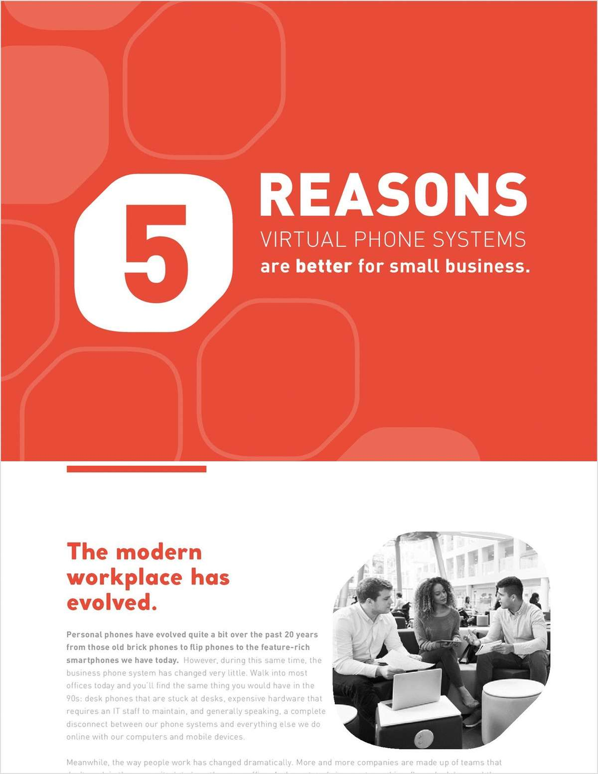 5 Reasons Virtual Phone Systems are Better for Small Business