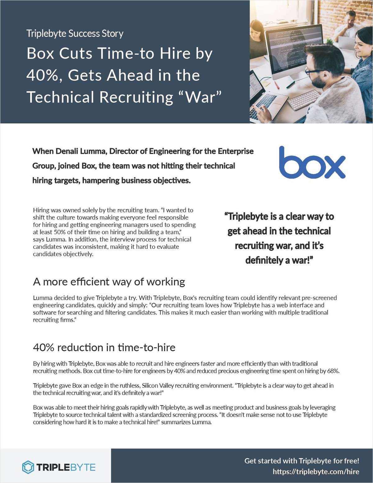 How Box Got the Edge in the Ruthless, Silicon Valley Recruiting Environment