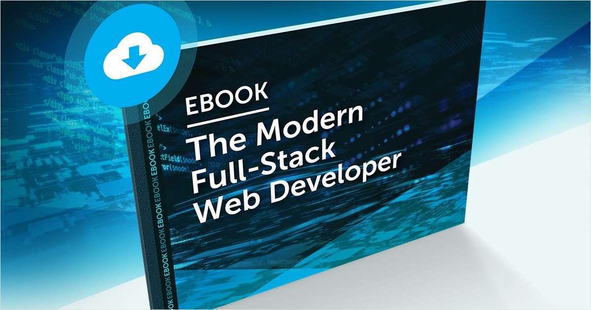 The Modern Full-Stack Web Developer