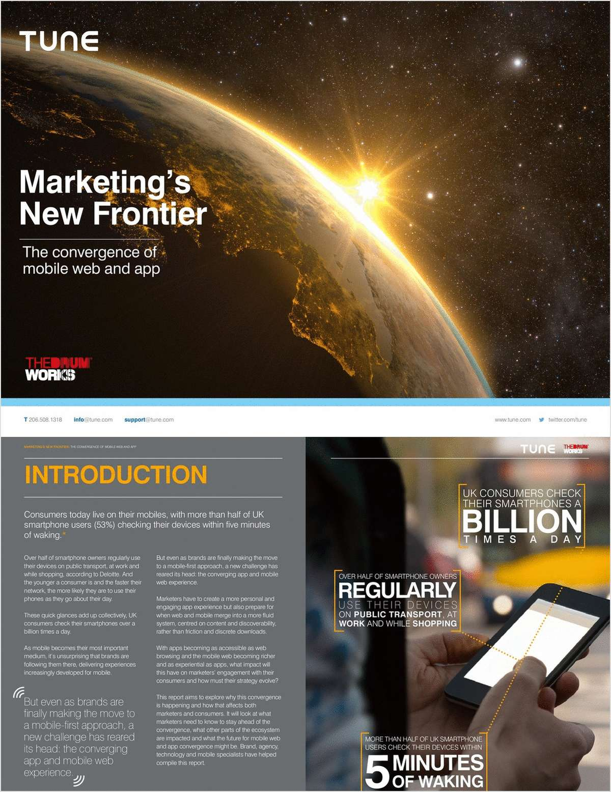 Marketing's New Frontier: The Convergence of Mobile Web and App