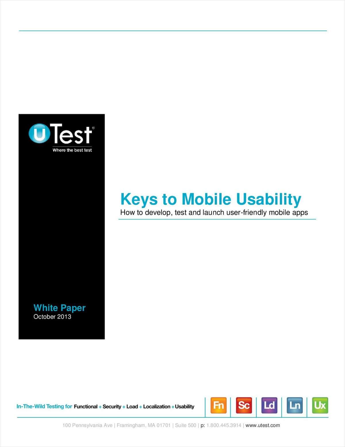 Keys to Mobile Usability