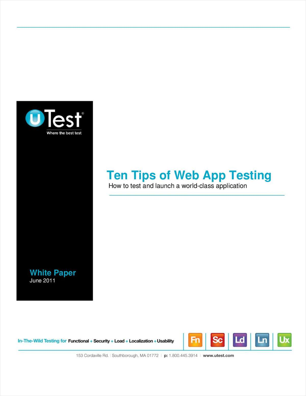 10 Tips of Web App Testing