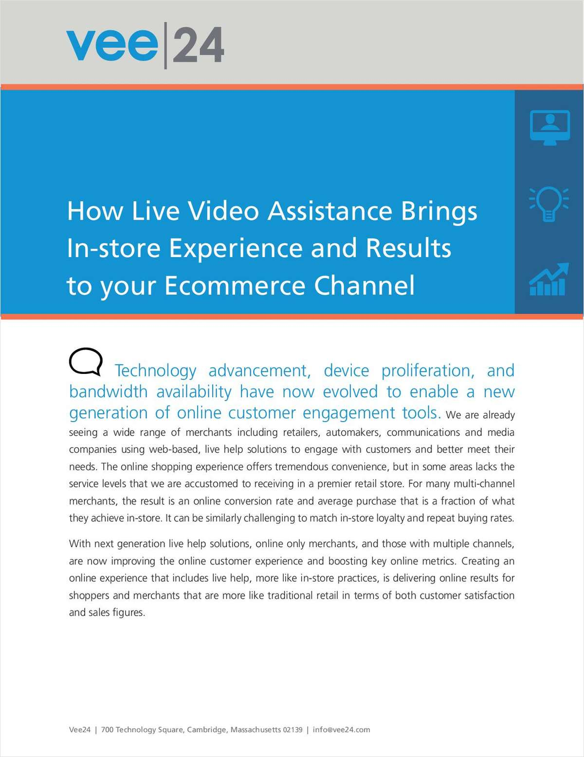How Live Video Assistance Brings In-store Experience and Results to your Ecommerce Channel
