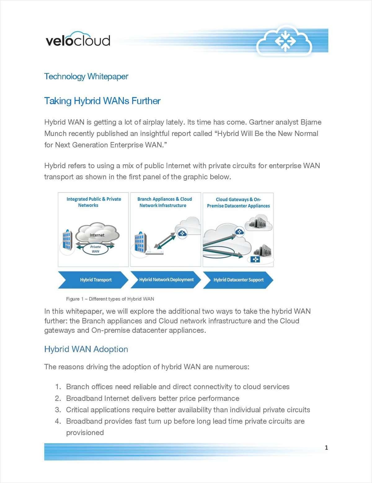 Optimized Hybrid WAN for the Enterprise