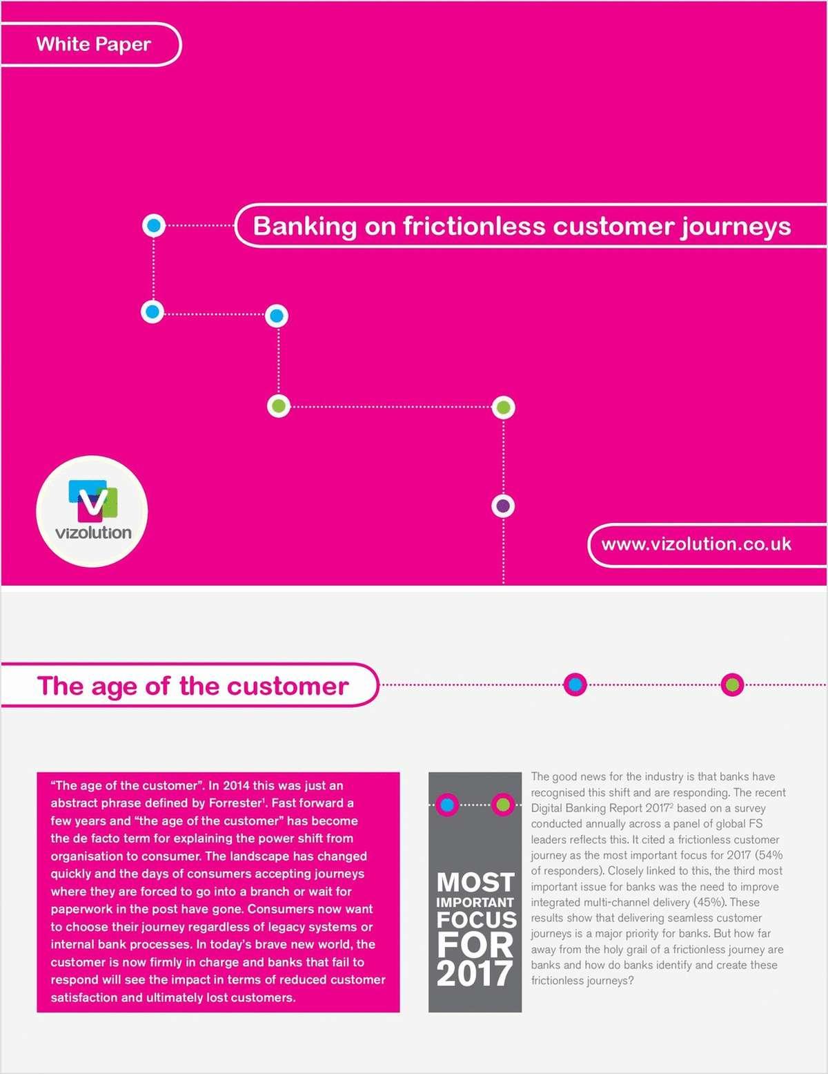 Banking on Frictionless Customer Journey - UK