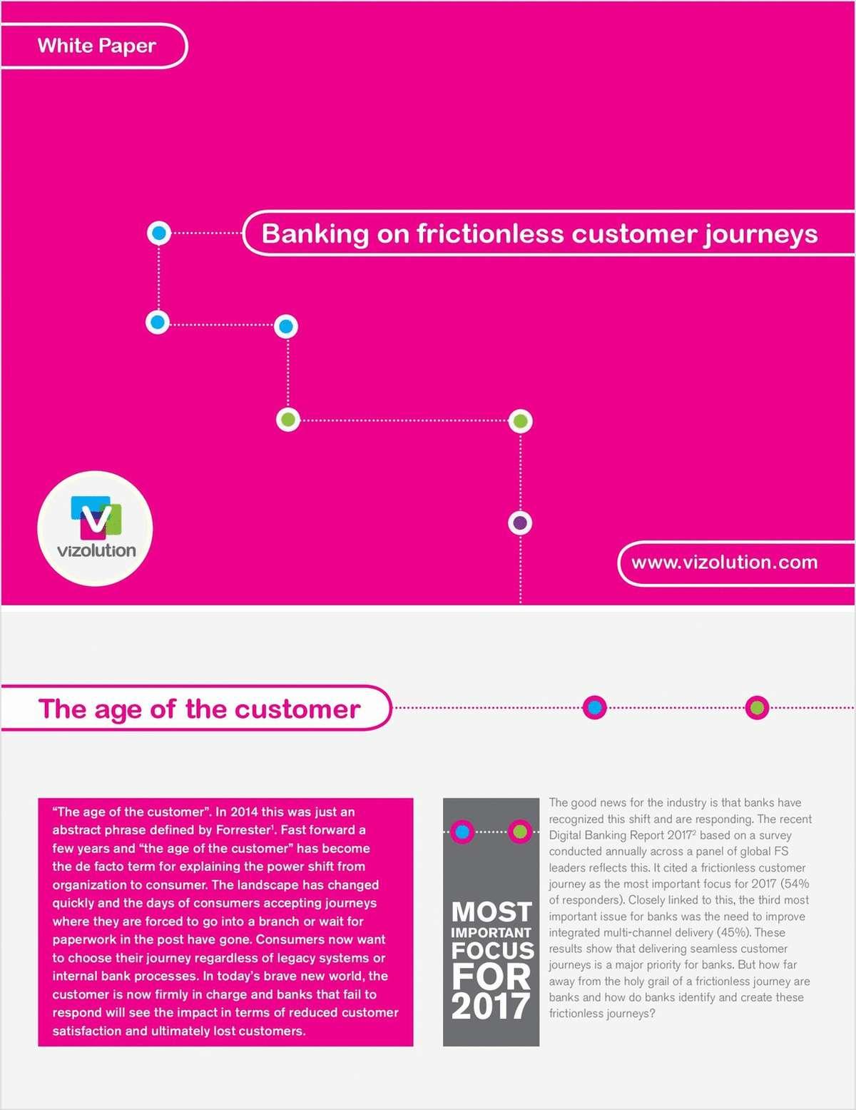 Banking on Frictionless Customer Journeys - USA