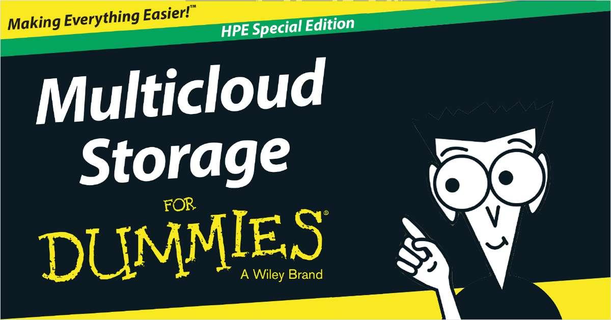 Multicloud Storage For Dummies