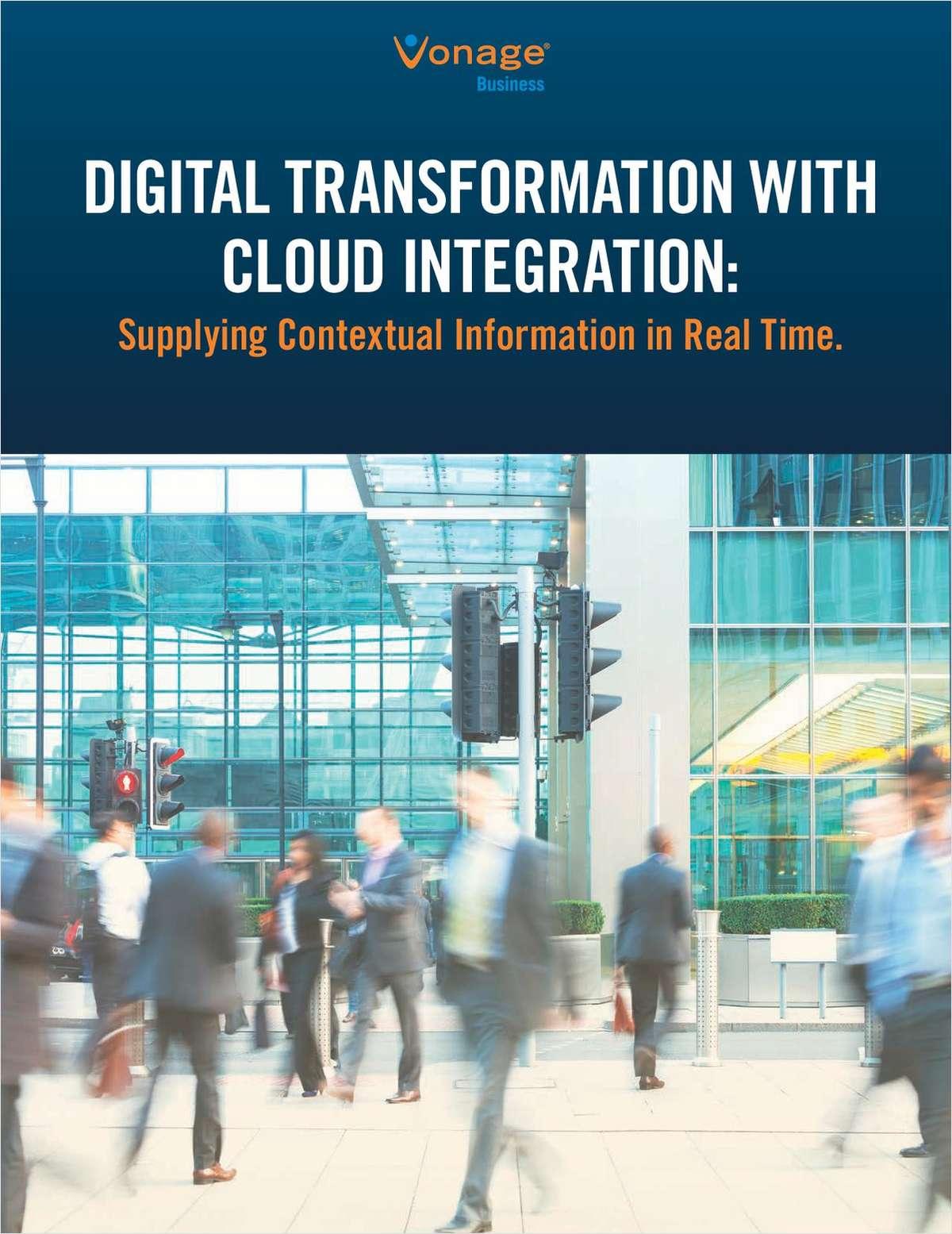 Digital Transformation with Cloud Integration