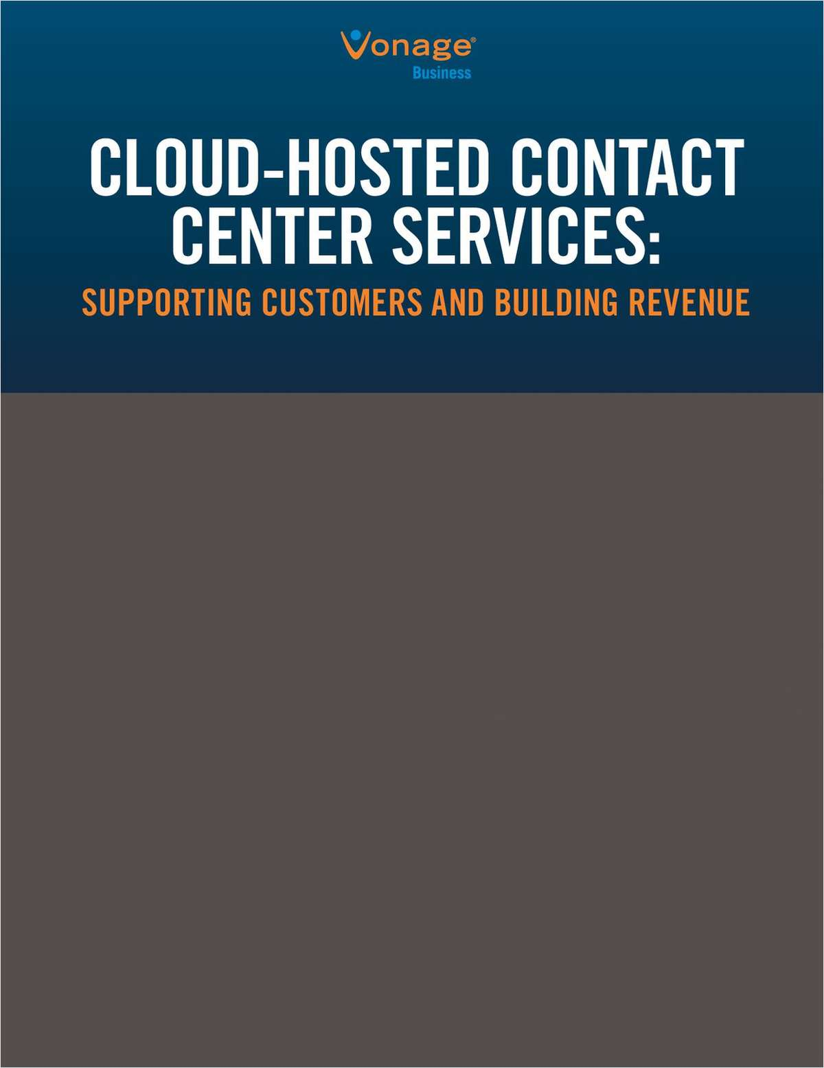 Cloud-Hosted Contact Center Services