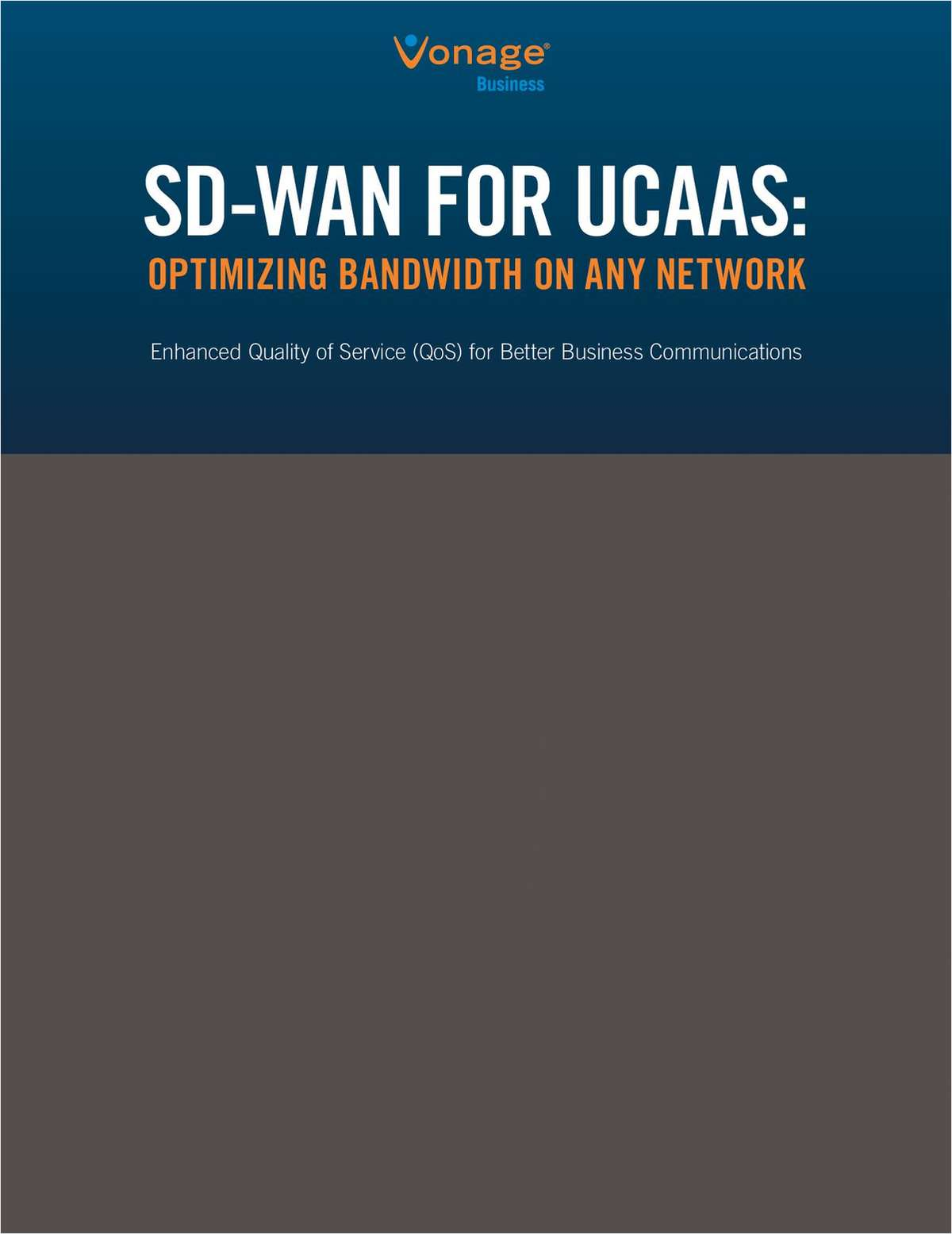 SD-WAN for UCaaS: Optimizing Bandwidth on Any Network