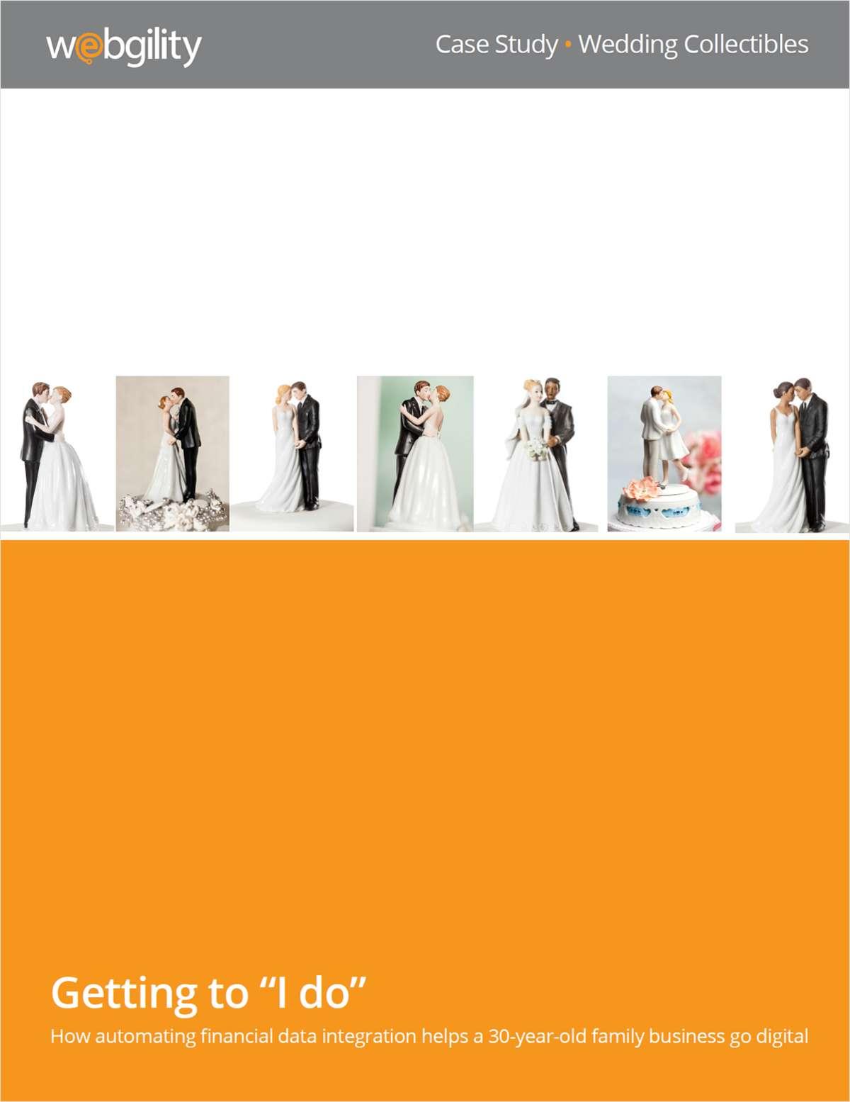 Wedding Collectibles Case Study:  Revenue increased 97%