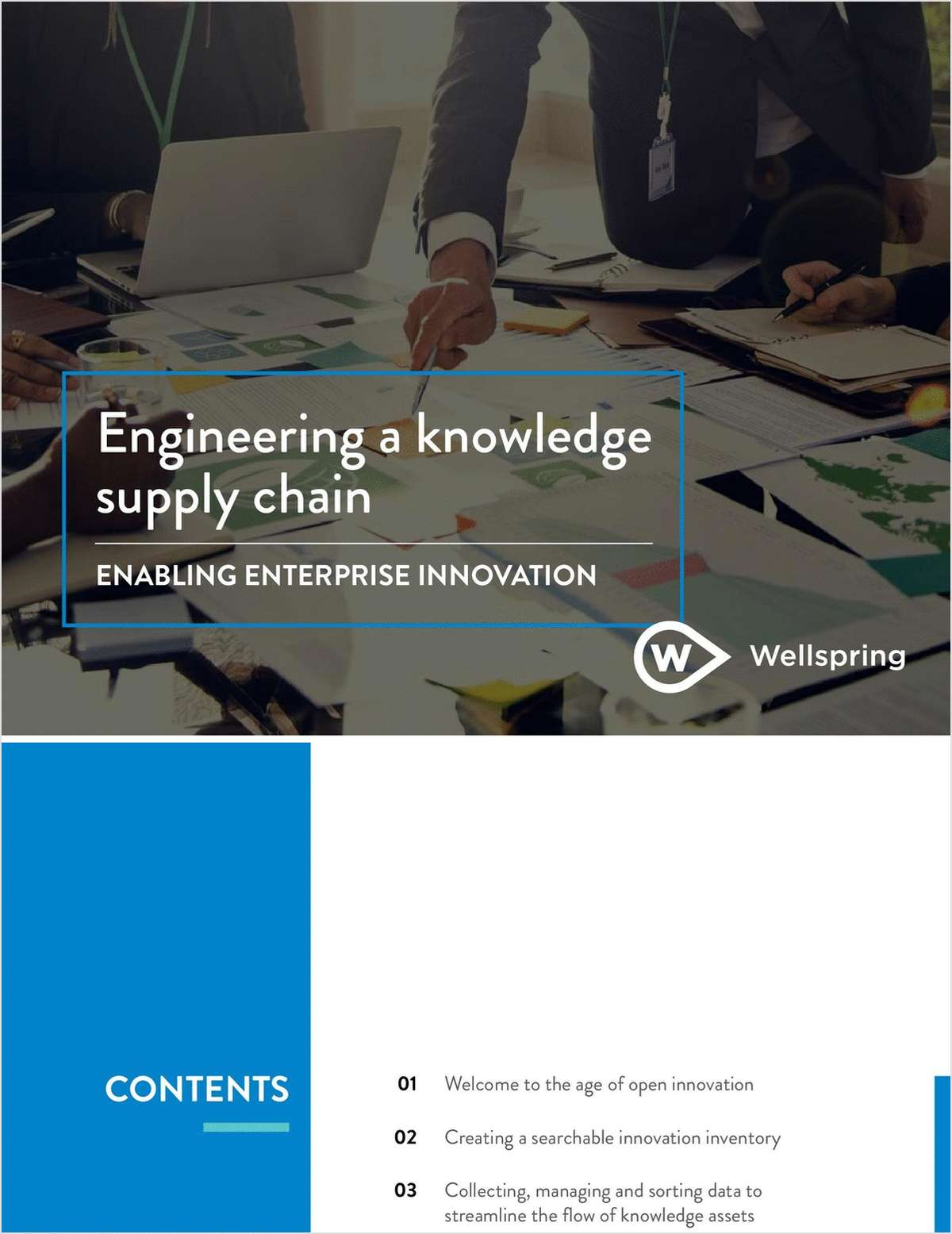 Engineering a Knowledge Supply Chain