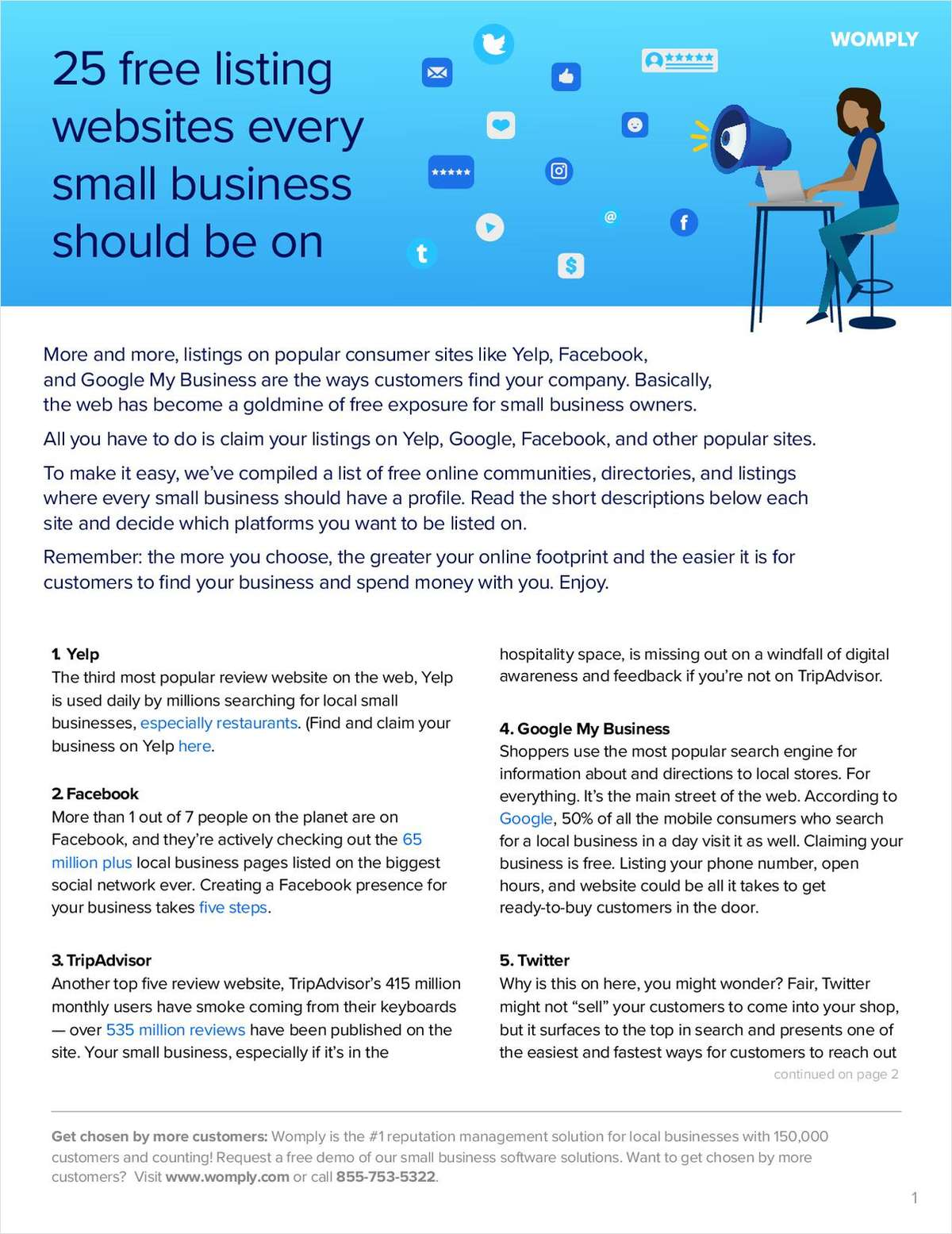 25 Free Listing Websites Every Small Business Should Be On