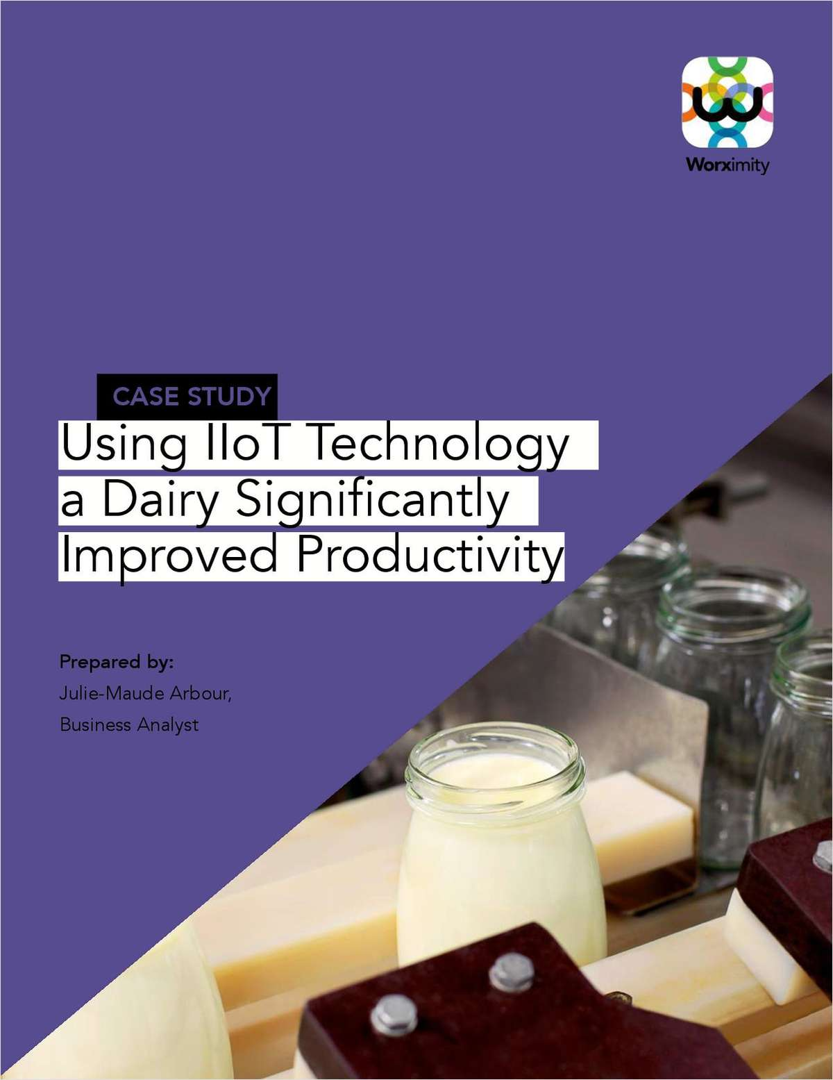Using IIoT Technology a Dairy Significantly Improved Productivity