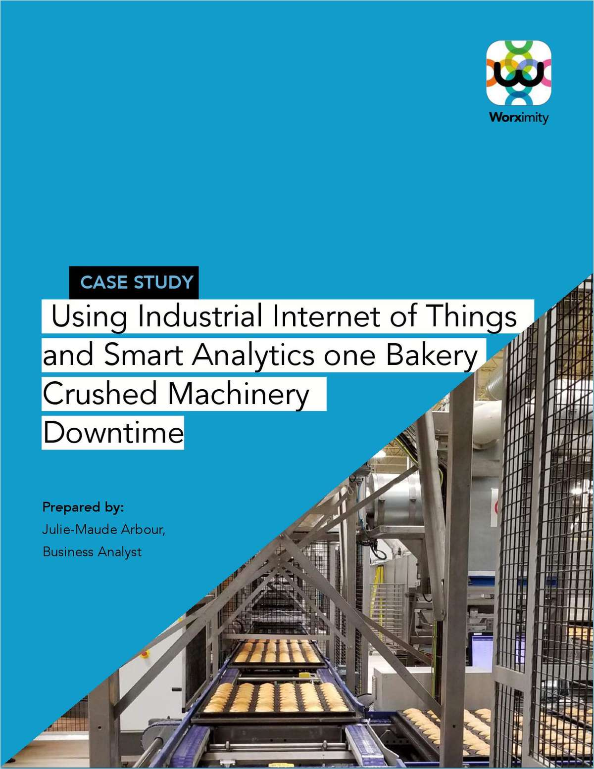Using Industrial Internet of Things and Smart Analytics one Bakery Crushed Machinery Downtime