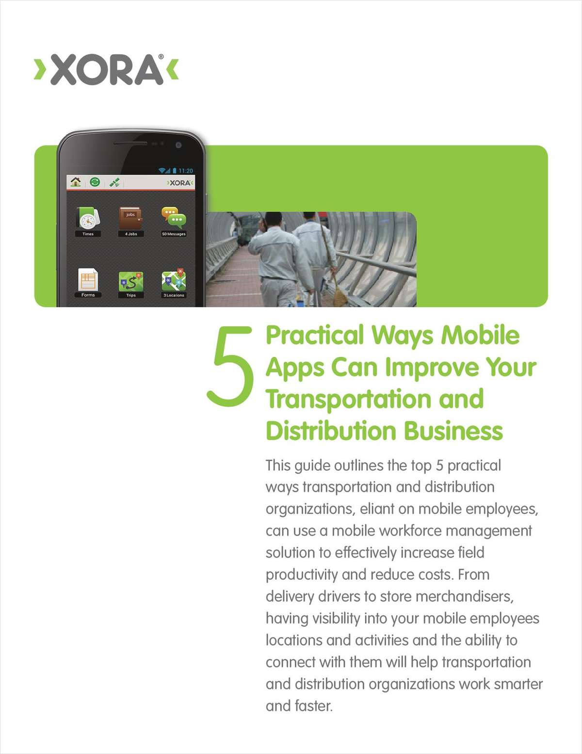 Top 5 Ways Mobile Apps Can Improve Transportation Businesses