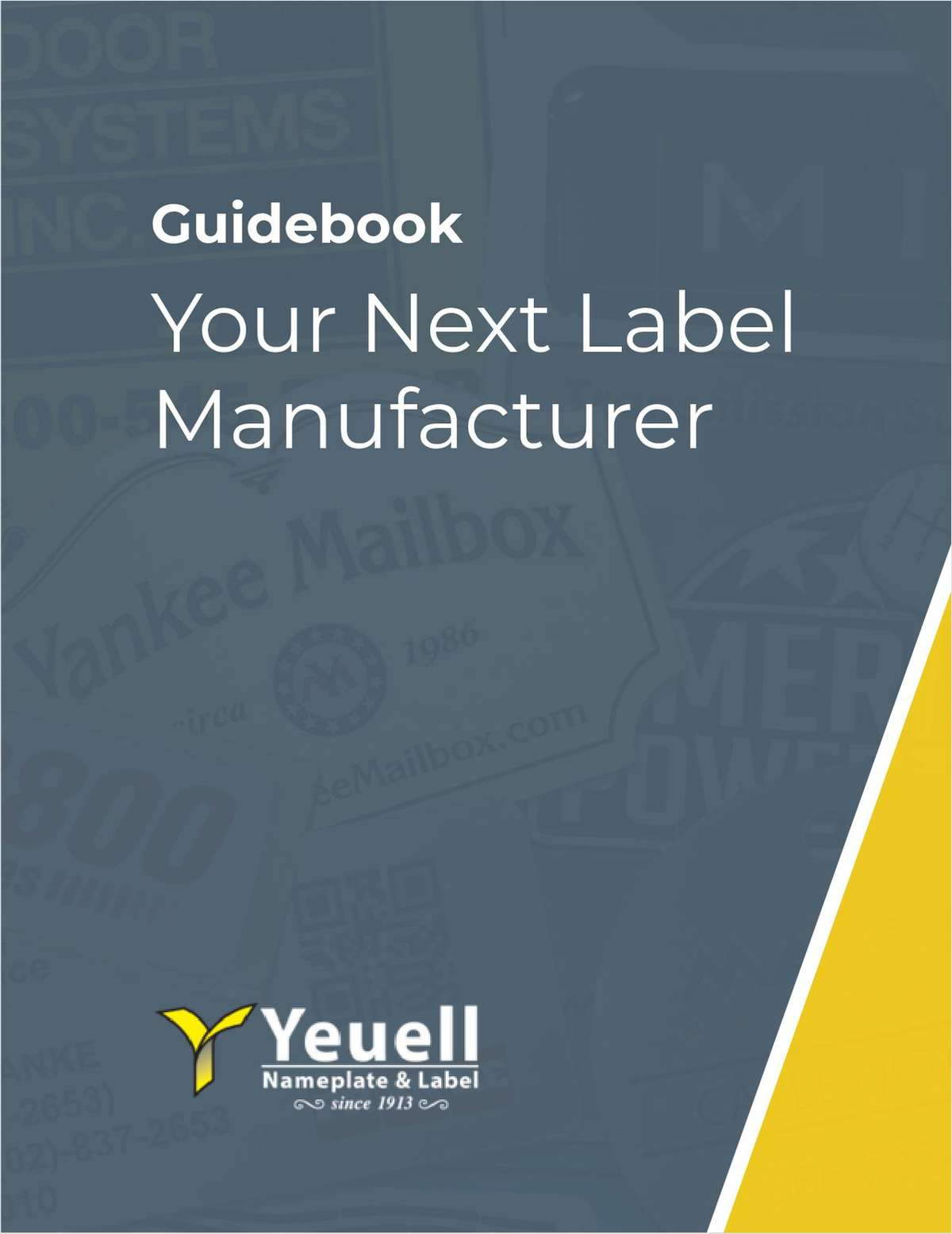 Your Next Label Manufacturer