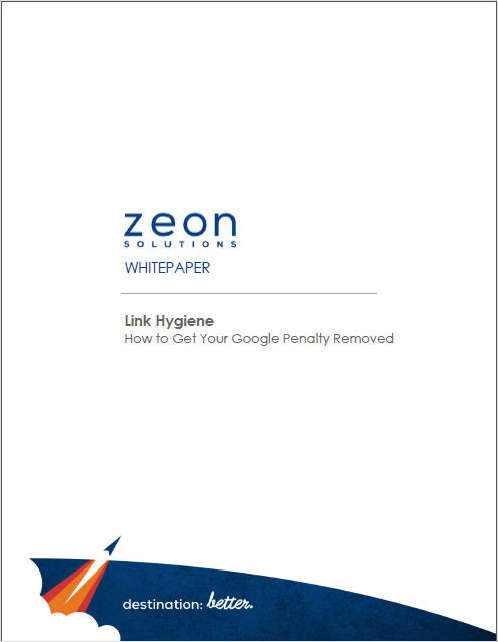 Link Hygiene: How to Get Your Google Penalty Removed