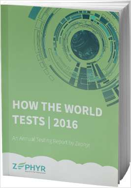 Annual Testing Report: How the World Tests