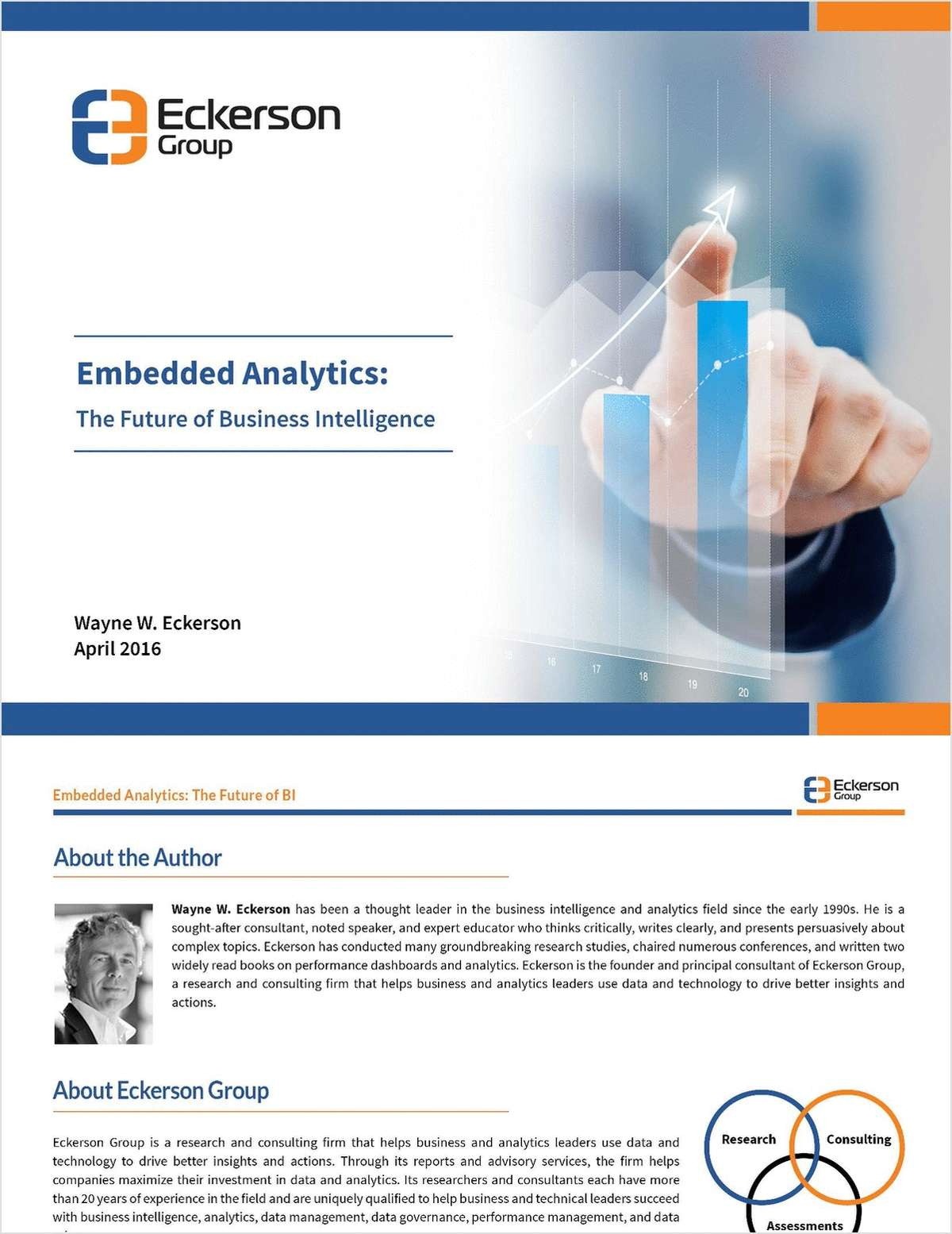 Eckerson Group Embedded Analytics: The Future of BI