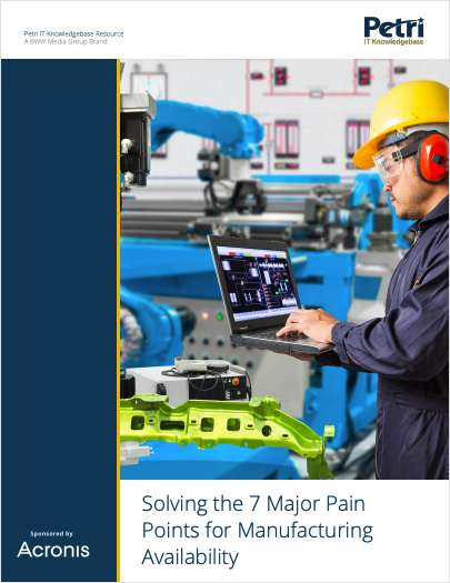 Solving the 7 Major Pain Points for Manufacturing Availability