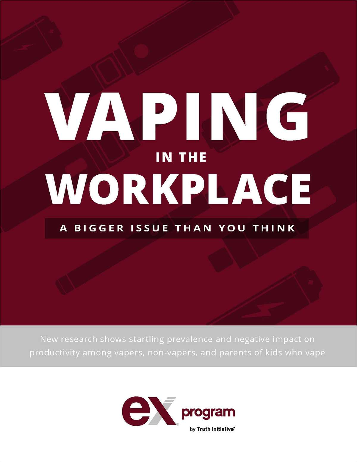 Vaping in the Workplace: A Bigger Issue than You Think