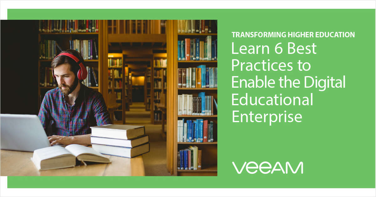 Learn 6 Best Practices to Enable the Digital Educational Enterprise