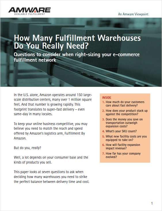 How Many Warehouses Do You Really Need?