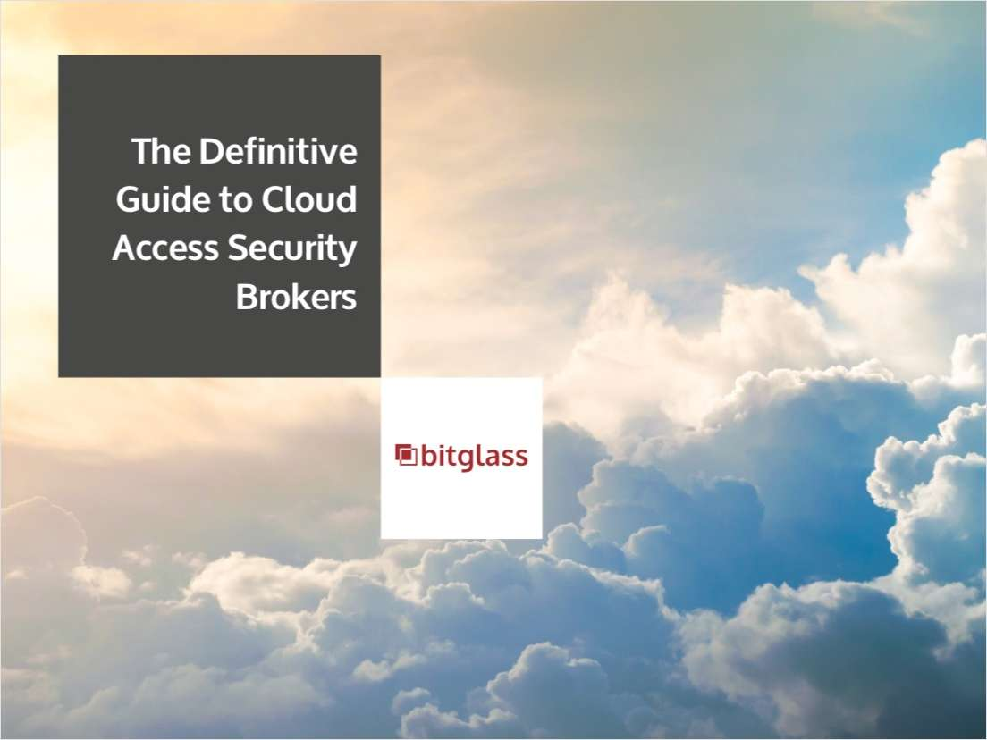 The Definitive Guide to Cloud Access Security Brokers