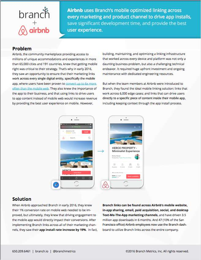 How Branch Helped Airbnb Boost and Measure Growth on Mobile