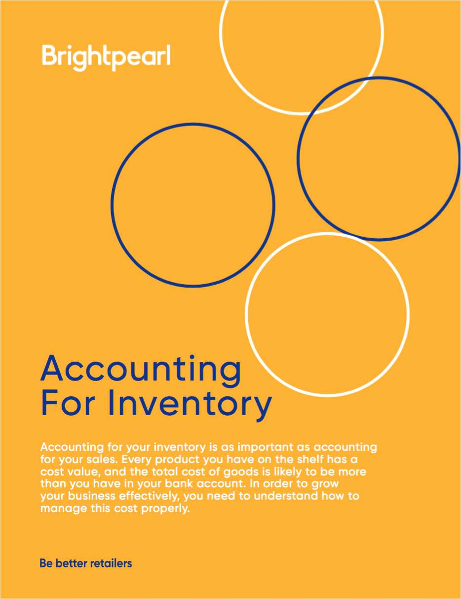 How to Guide: Accounting for your Inventory