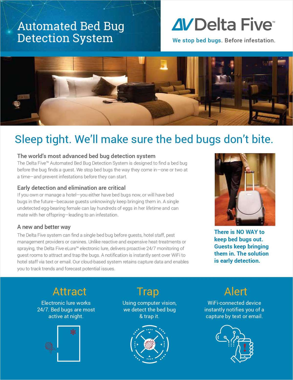 This tech solution for bed bugs should be found in every hotel