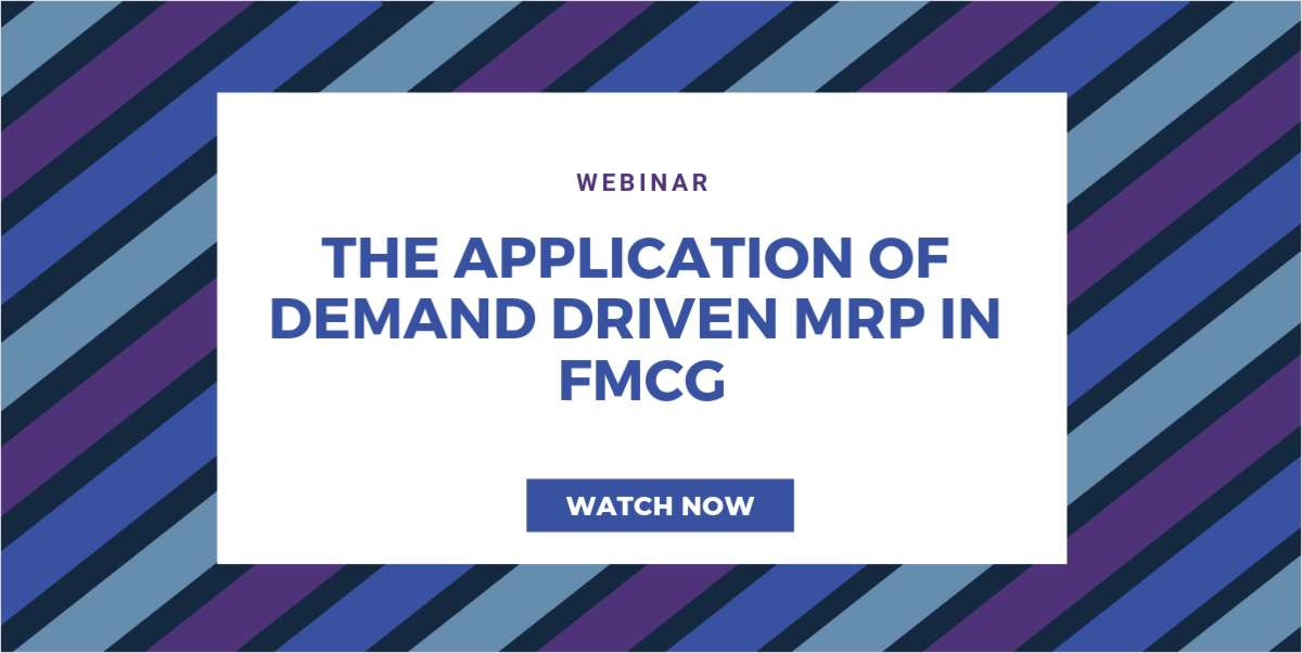 Demand Driven Considerations for FMCG!