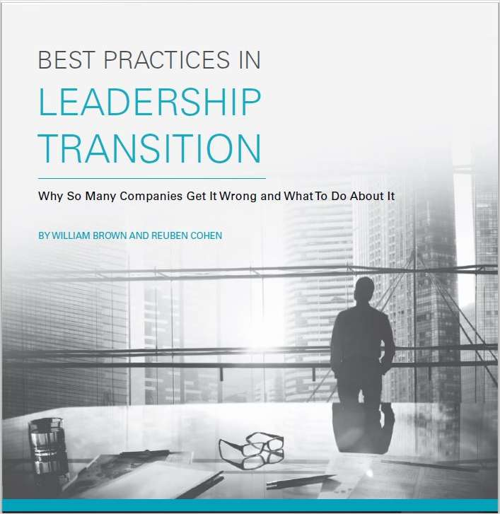 Best Practices in Leadership Transition