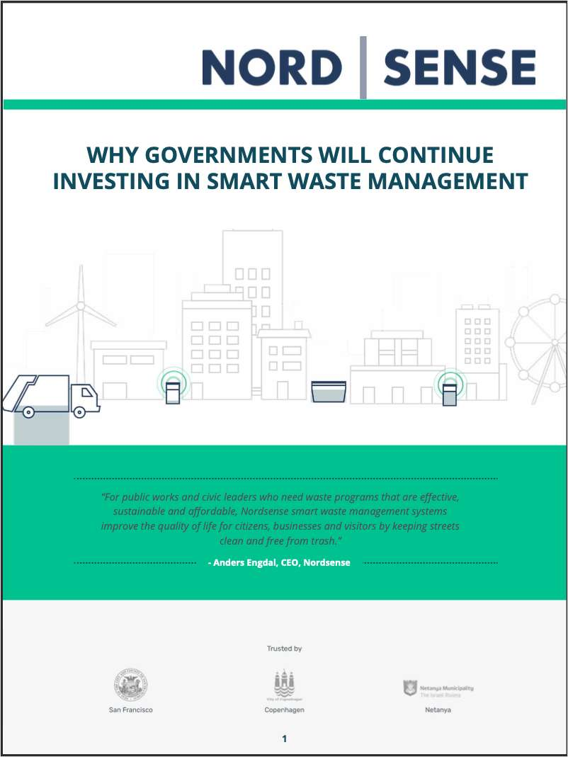 WHY GOVERNMENTS WILL CONTINUE INVESTING IN SMART WASTE MANAGEMENT