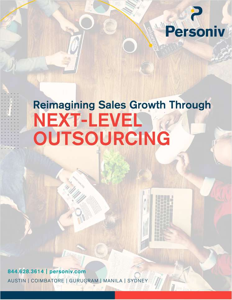 Reimagining Sales Growth Through Next-Level Outsourcing