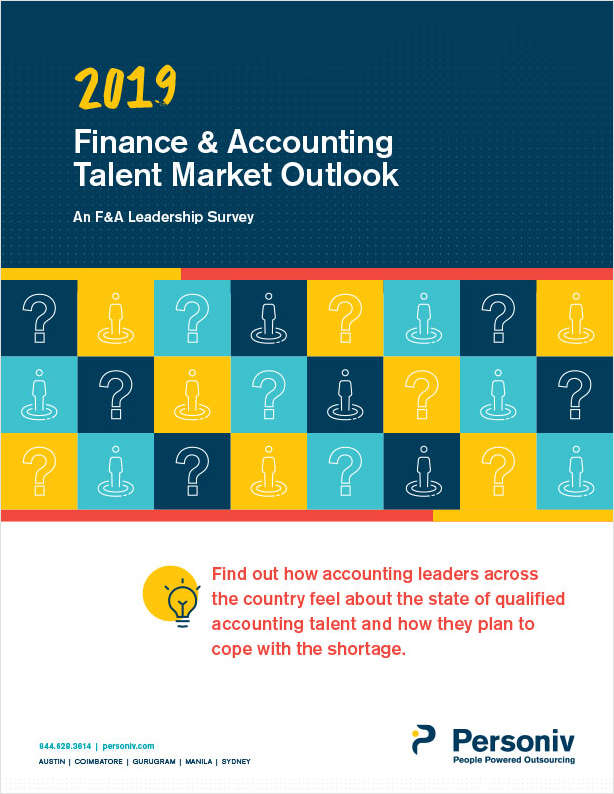 2019 Finance & Accounting Talent Market Outlook