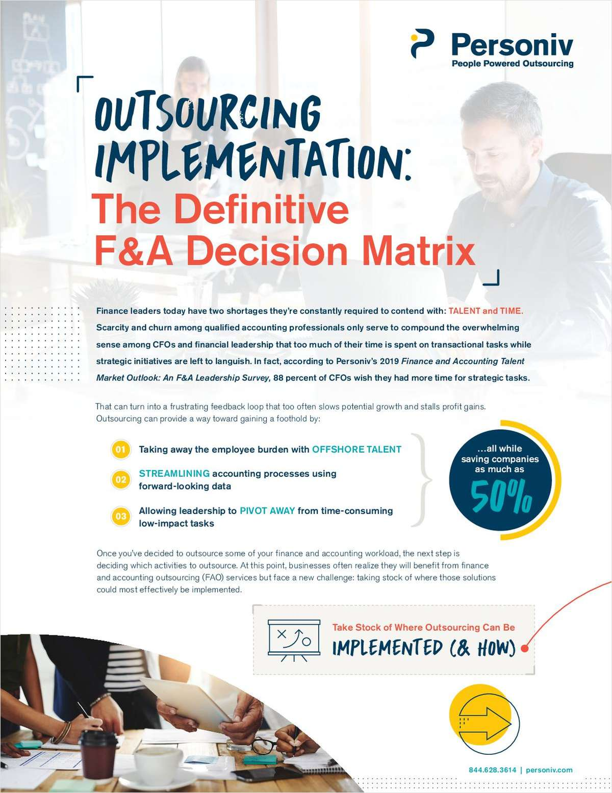 Outsourcing Implementation Cheat Sheet