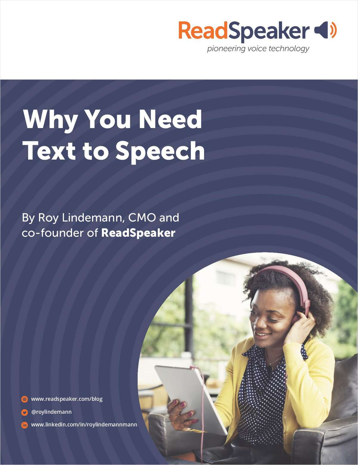 Why You Need Text-to-Speech Technology