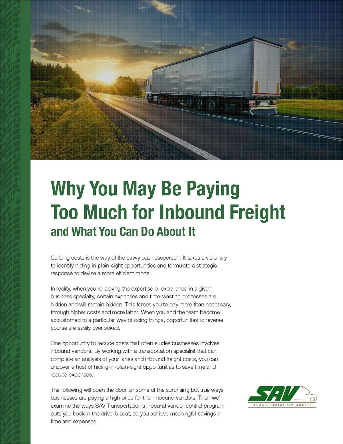 The Ultimate Solution to Curbing Excess Costs on Inbound Shipping