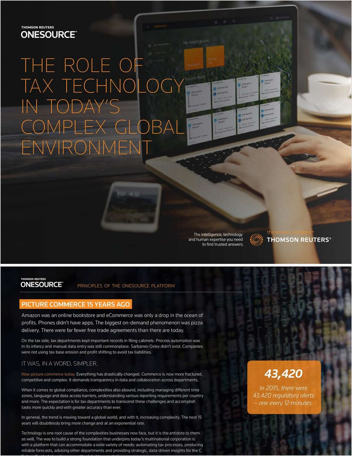 The Role of Tax Technology in Today's Complex Global Environment