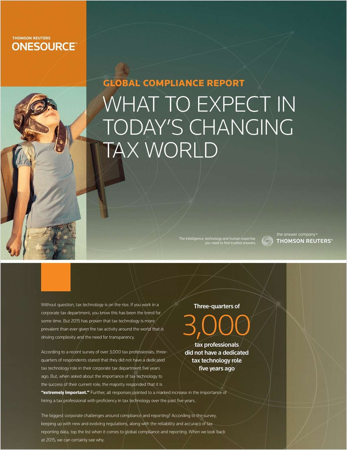 Global Compliance Report:  What to expect in today's changing tax world