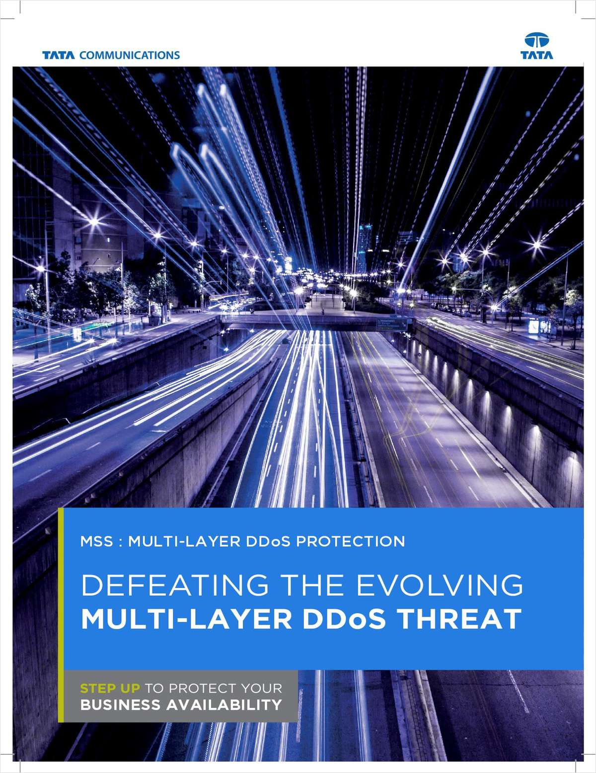Defeating the Evolving Multi-layer DDoS Threat