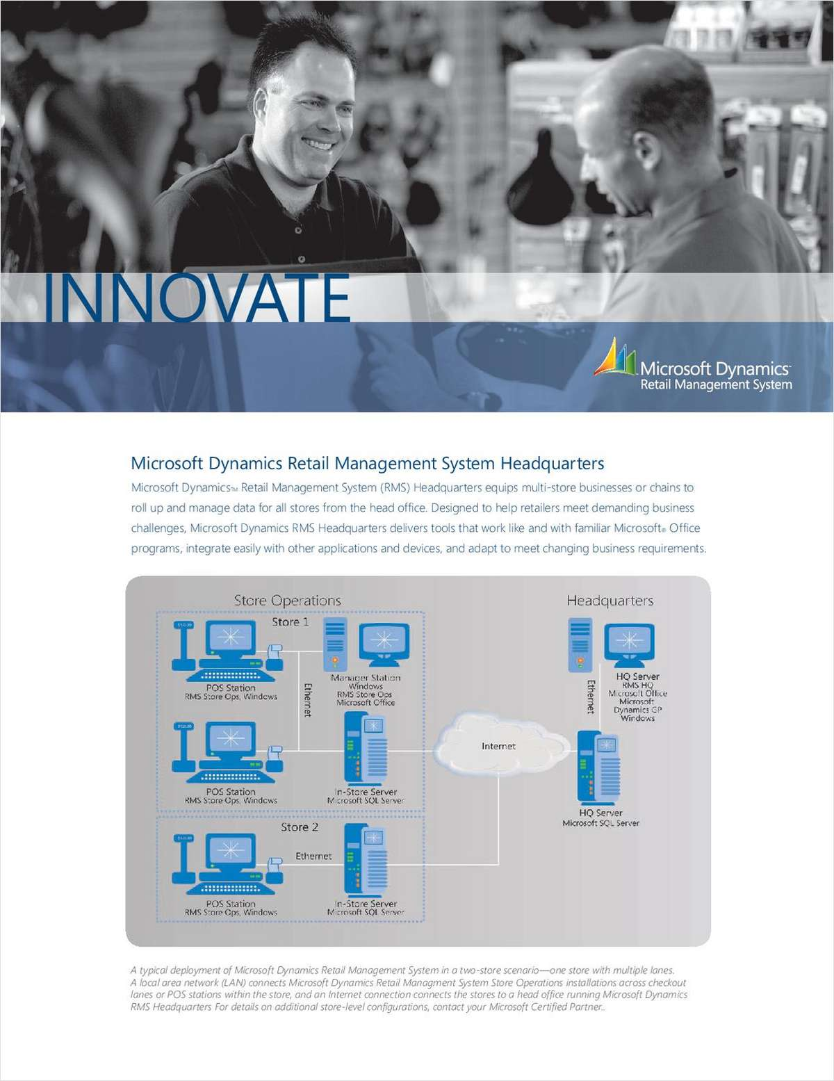 Microsoft Dynamics Retail Management System Headquarters For Multi-Store Retailers