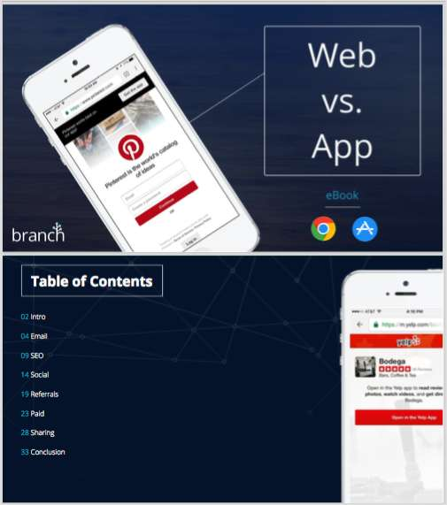 Web vs. App