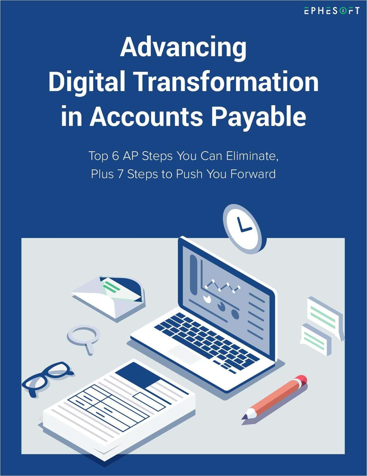 Advancing Digital Transformation in Accounts Payable