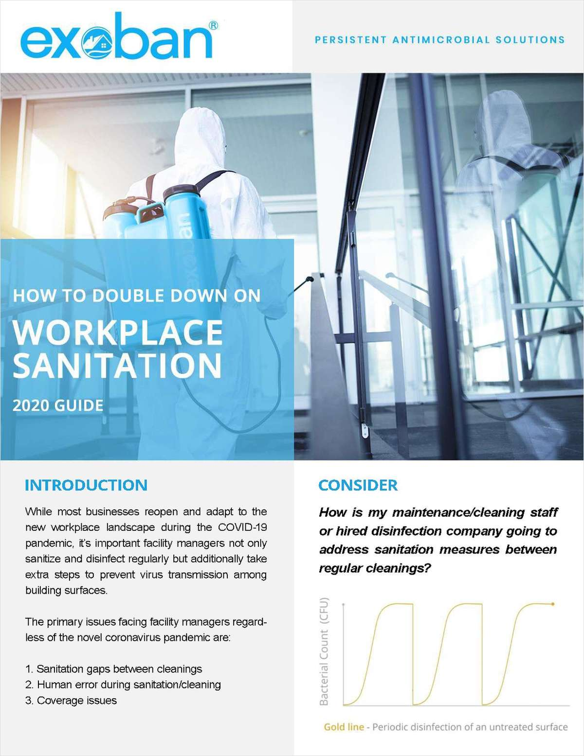 How To Double Down On Workplace Sanitation