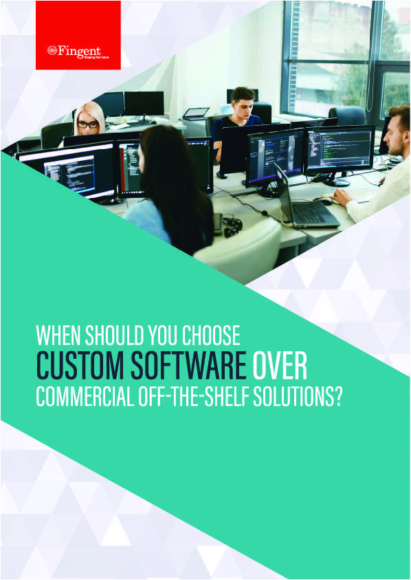 When Should You Choose Custom Software Over Commercial Off-The-Shelf Solutions?