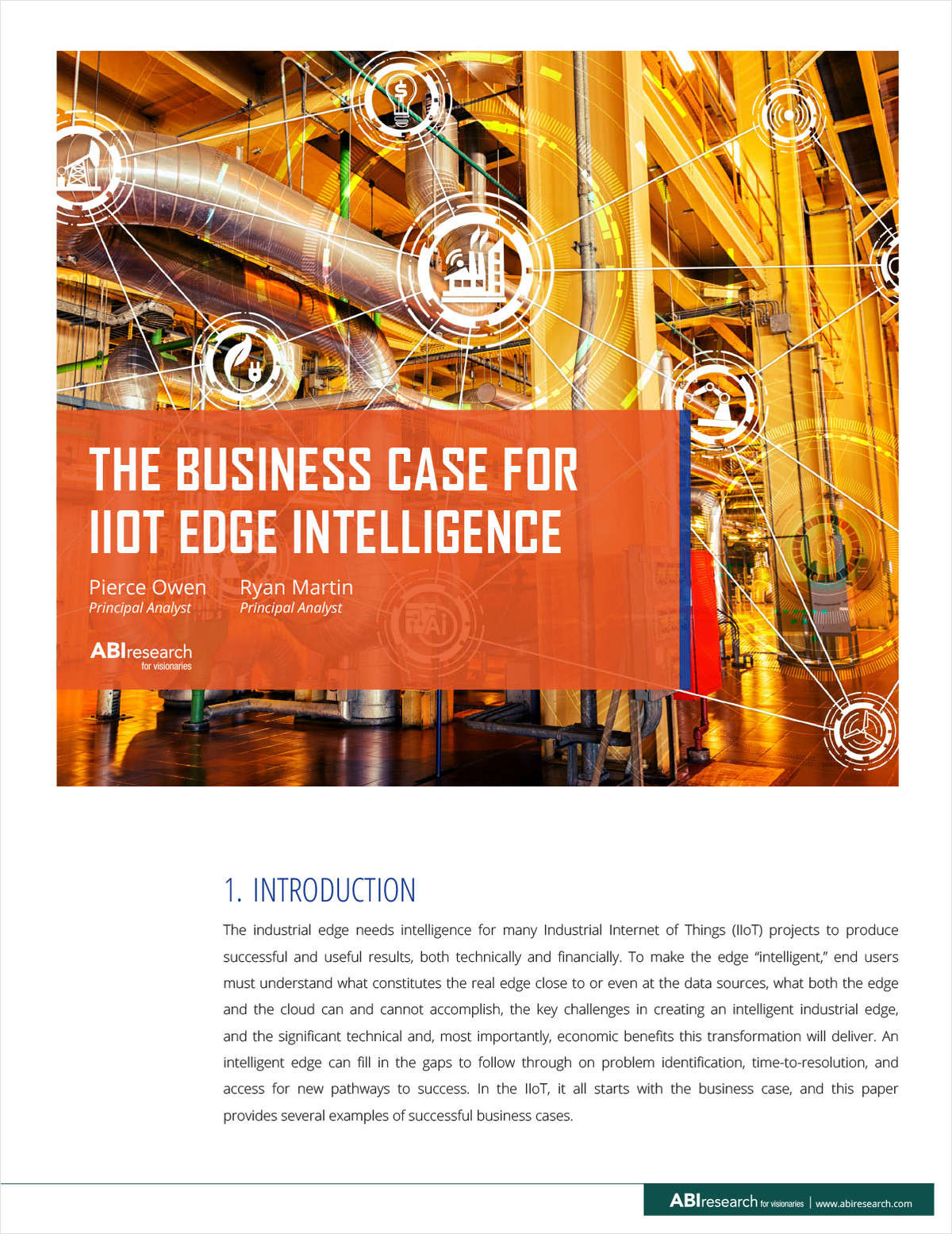 The Business Case for IIoT Edge Computing